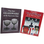 Two Books on Very Rare Glassware of the Depression Years