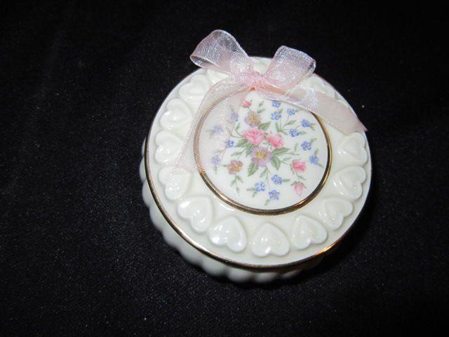 Vintage Lenox Trinket box