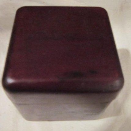 Vintage Small Reddish Eddie Bauer Box
