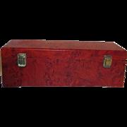 Sturdy Hinged Lid Wood Presentation Box