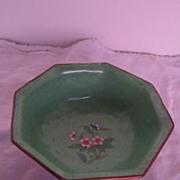 Vintage Oriental Enamel Small Bowl