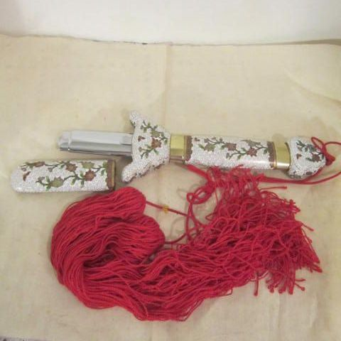 "Vintage Chinese Cloisonne ""Ceremonial"" Sword"
