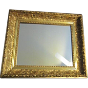 Gilded Ornate Framed Mirror