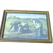 Wood Framed Print of The Gleaners