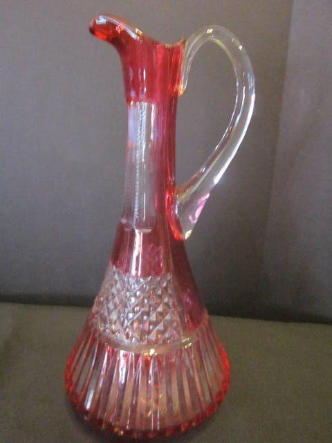 Vintage Crystal Ewer