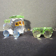 Swarovski Miniature Crystal Train