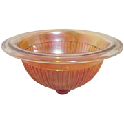Fancy Colonial Berry/Mixing Bowl by Imperial Glass Co.
