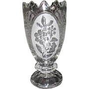 Zajecar 24% Lead Crystal Vase from Yugoslavia in Original Box