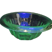 Florescent Uranium Green Glass Anchor Hocking Mixing Bowl