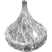 Lidded Cut Glass Candy Dish