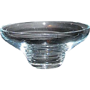 Clear Crystal Serving Bowl/Floating Flower Bowl