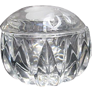 Princess House Lead  Crystal Round Box Germany
