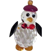Iris Arc Multi-faceted Penguin with Hat