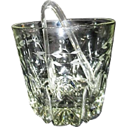 Princess House Crystal Ice Bucket Heritage Pattern