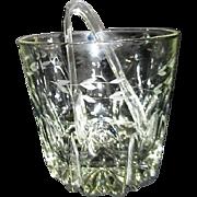 Princess House Crystal Ice Bucket Heritage Pattern