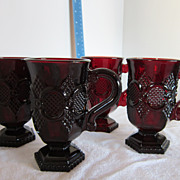 Avon Cape Cod Collection Coffee Mugs (set of 4) - Red Tag Sale Item