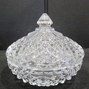 Small Crystal Covered Candy Dish
