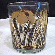 Set of 6 Hand Painted Old Fashioned Drink Glasses