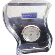 Waterford Crystal Marquis Table Clock