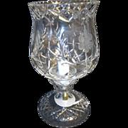Heavy Crystal Lamp with Globe European Wiring