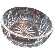 "Waterford Crystal 5"" Round Bowl"