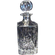 Heavy Lead Crystal Decanter from Poland