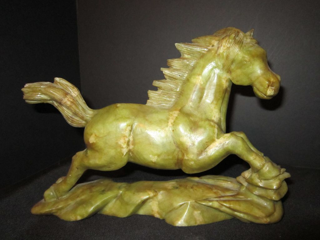Antique Hand Carved  Horse