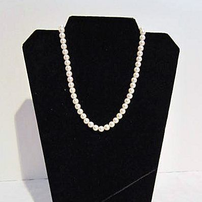 16 inch strand of Faux Pearls