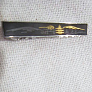 Shakudo Tie Clasp from Japan