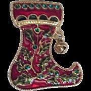 Christmas Stocking Pin