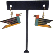 Laurel Burch Pair of Bird Earrings for Pierced Ears