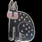 Laurel Burch Pin/Brooch Rabbit for Ross