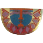 Laurel Burch Pin/Brooch with Sunface