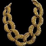 Anne Klein Chunky Goldtone Big Chain Necklace