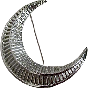 Sarah Coventry Crescent Moon Pin/Brooch 1959