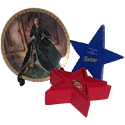 Barbie Statue of Liberty Watch in Star Box