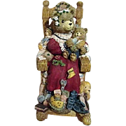 Music Box Bear in Rocking Chair