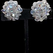 Laguna Co. Crystal Clip-on Earrings