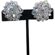 Laguna Co. Crystal Clip-on Earrings