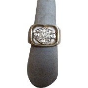 Sterling Silver Harley Davidson Ring Made in Mexico