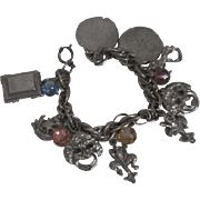 Metal Charm Bracelet from the 1950's