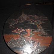 Japanese Round Box