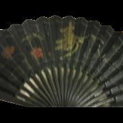 Vintage Iron Fan Wall Hanging
