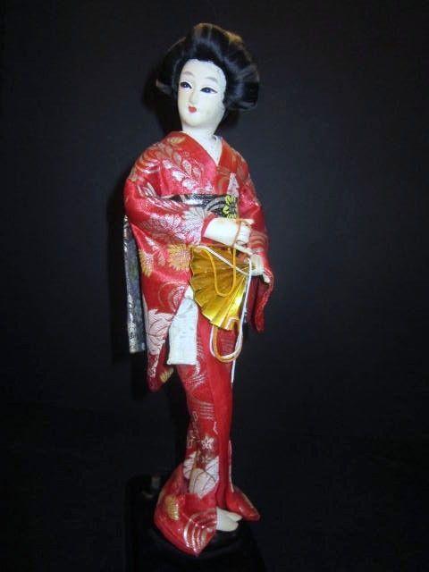 Vintage Japanese Geisha Doll Music From Somethingwonderful