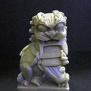 Vintage Chinese Soapstone of Small Foo Dog