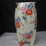 Vintage Hand Painted Japanese Vase by Gold Castle