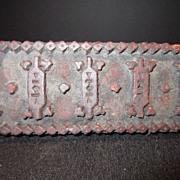 Vintage Wood Stamp