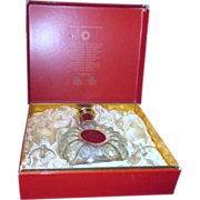 Remy Martin Decanter and 2 Glasses in Display Box