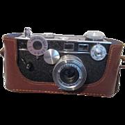 Argus Camera in Leather Case