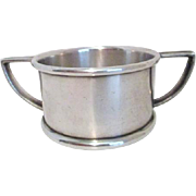 Gorham Silver Soldered Child's Double Handled Cup